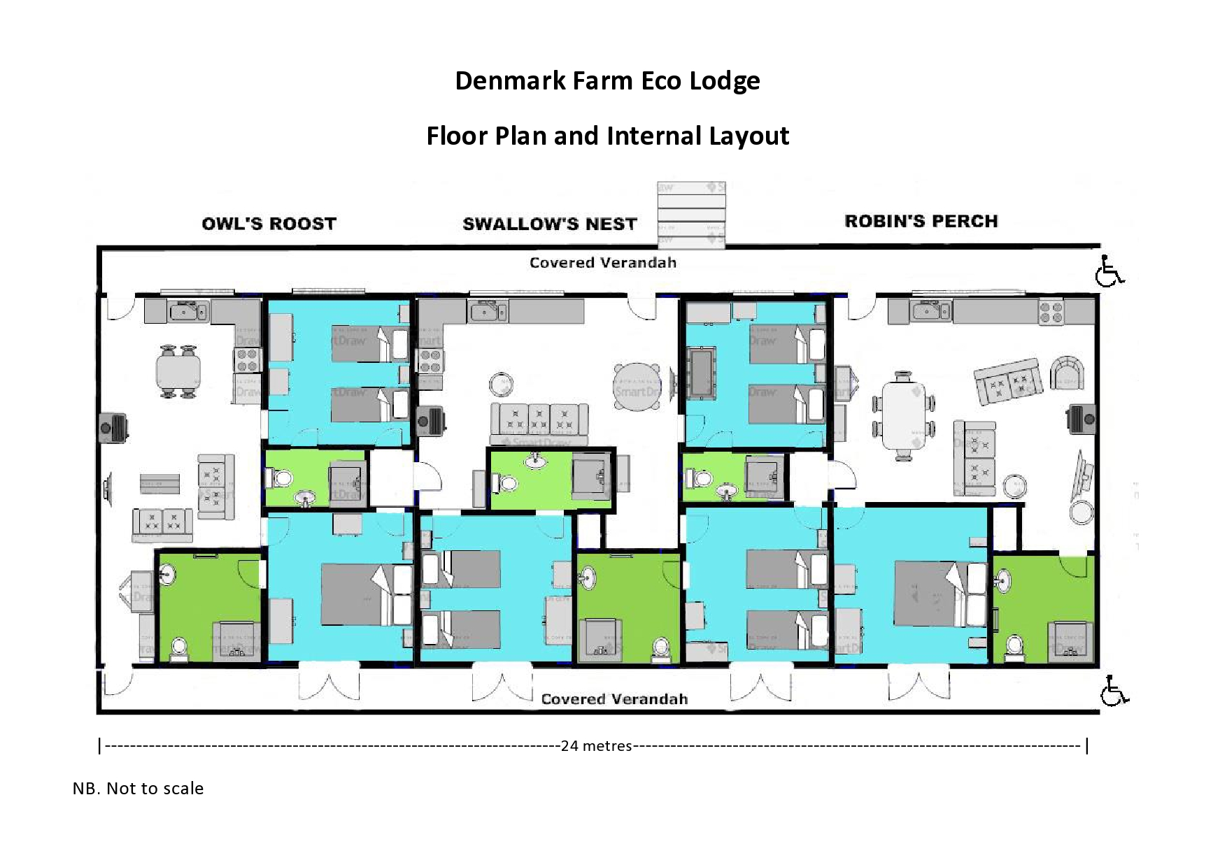 Center parcs 4 bedroom woodland lodge floor plan for Eco home floor plans